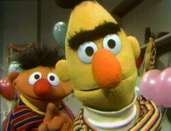 Ernie and Bert welcome you