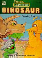 Dinosaur coloring book 1979