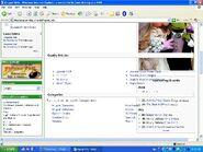 Wiki mainpage error ie 5