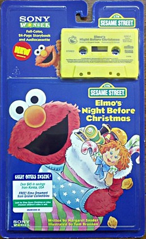 Elmo's Night Before Christmas (book and tape) | Muppet Wiki ...
