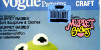 Muppet Babies doll patterns (Vogue)