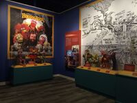 Center for Puppetry Arts - Fraggle Rock Characters