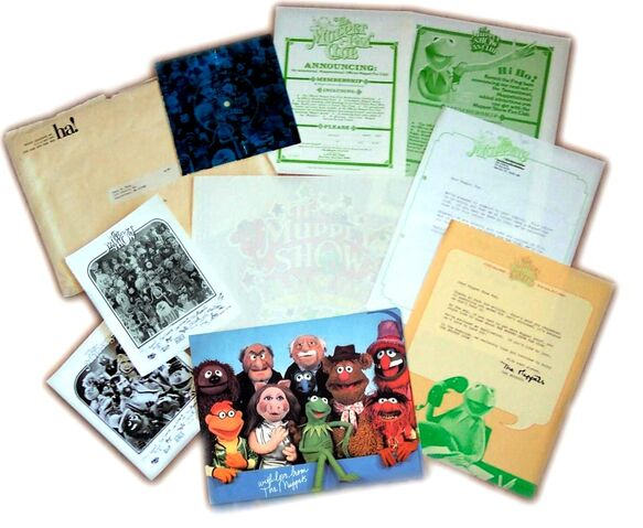 File:Muppet Fanclub Letters, Photos, TShirt Transfer and Record.JPG