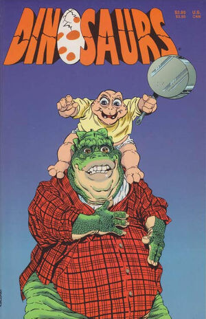 Dinosaurs - first comic book