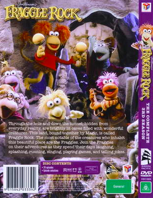 FraggleRock3rdSeasonAustralianBackCover