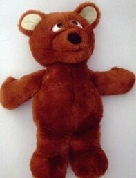 Tyco 1998 baby bear plush