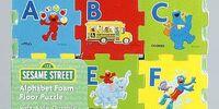 Sesame Street foam tiles