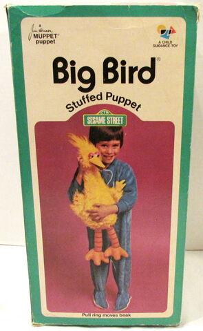 File:Child guidance 1973 big bird stuffed puppet plush 3.jpg
