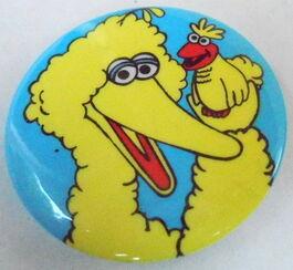 Sesame button big bird little bird
