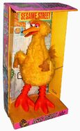 Topper big bird toy