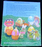 Hallmark 1981 muppet easter egg decorating kit 2