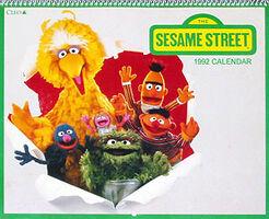 The Sesame Street 1992 Calendar