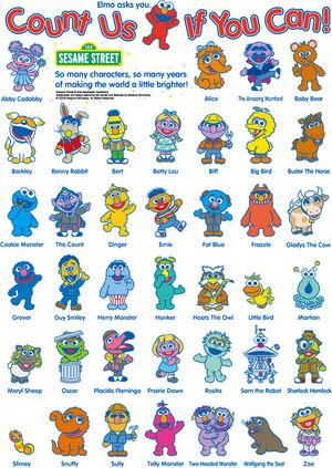 Sesame Street Japan 40