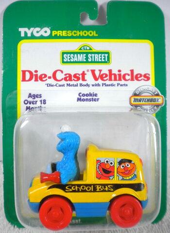 File:Tyco matchbox 1996 die-cast car cookie monster bus.jpg