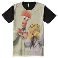 Zazzle beaker bunsen all over shirt