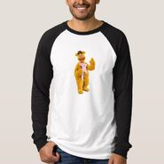 Zazzle fozzie waving shirt