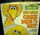 Sesame Street cake pans