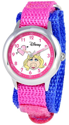 File:Ewatchfactory 2011 miss piggy stainless steel time teacher watch.jpg
