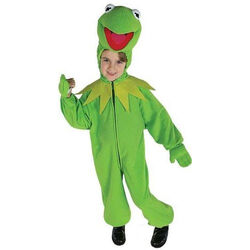 Kermit kids Costume