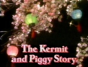 The Kermit & Piggy Story 0001 title