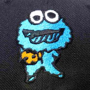 New era 59fifty fits cap little monster cookie monster 3