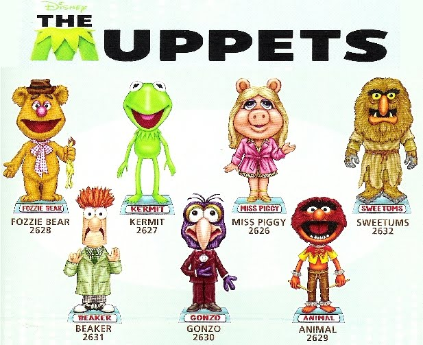Pictures of The Muppets Characters Names - #rock-cafe