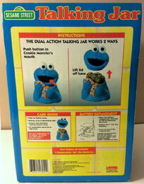 Funomenon 1998 cookie monster talking jar 4