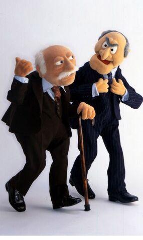 File:Statler and Waldorf walking.jpg
