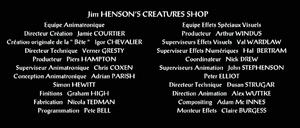 Beast of Gevauden - credits