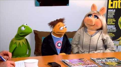 The Muppets visit Entertainment Weekly