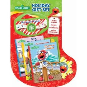 Sesame street holiday gift set