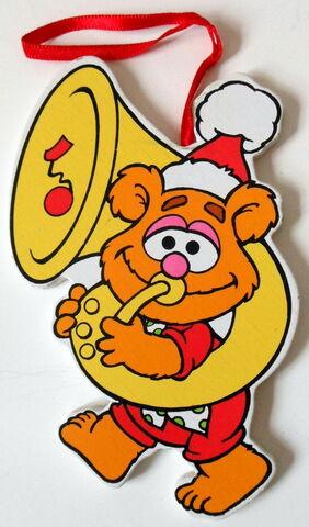 File:Kurt adler flat muppet babies christmas ornament fozzie.jpg