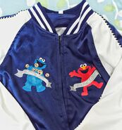 Pancoat jacket cookie elmo 2