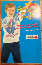 Tulip productions gonzo fabric paint shirt kit