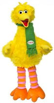 Sesame place plush christmas bird 20