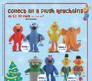 Sesame Street keychains (Fairprice Xpress)