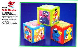 Tyco 1994 soft blocks