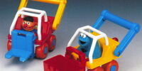 Sesame Street Construction Vehicles