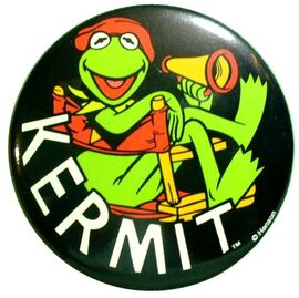 Walt disney world 1990s kermit button mv3d