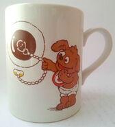 Kiln craft 1986 muppet babies rowlf mug 1