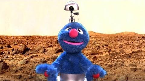 NASA & PBS Present The Mars Grover - CONAN on TBS