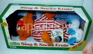 Sing and snore ernie box