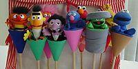 Sesame Street puppets (Igel)