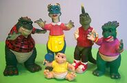 Dinosaurs Sinclair family
