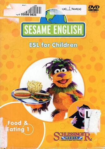 File:SesameEnglishFoodandEating1DVD.jpg