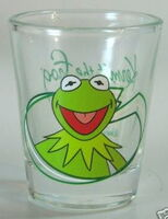 Kermit shot glass