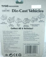 Tyco matchbox 1996 die-cast car package