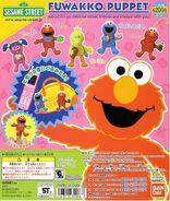 Japan fuwakko puppet mascot set 2012 1