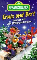 Ernie und Bert warten auf den Weihnachtsmann