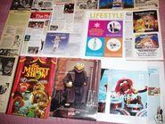 Magazine clippings